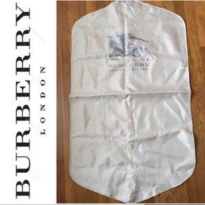 BURBERRY GARMENT BAG SUIT COVER CARRIER